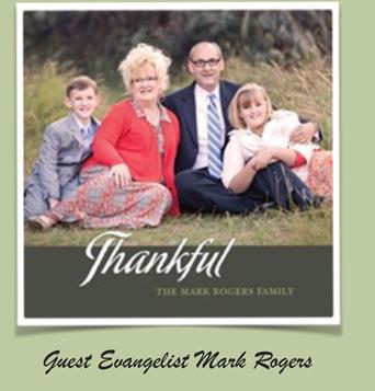 Guest Evangelist Mark Roger